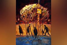 «Не вдруг». Выставка живописи Сергея Чеботаря (8.10-14.11)
