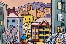 Выставка Ольги Цылевой «Калейдоскоп впечатлений»