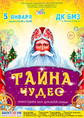 """Новогоднее шоу """"ТАЙНА ЧУДЕС"""""""