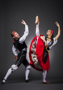 Гос. академический ансамбль народного танца им. Игоря Моисеева